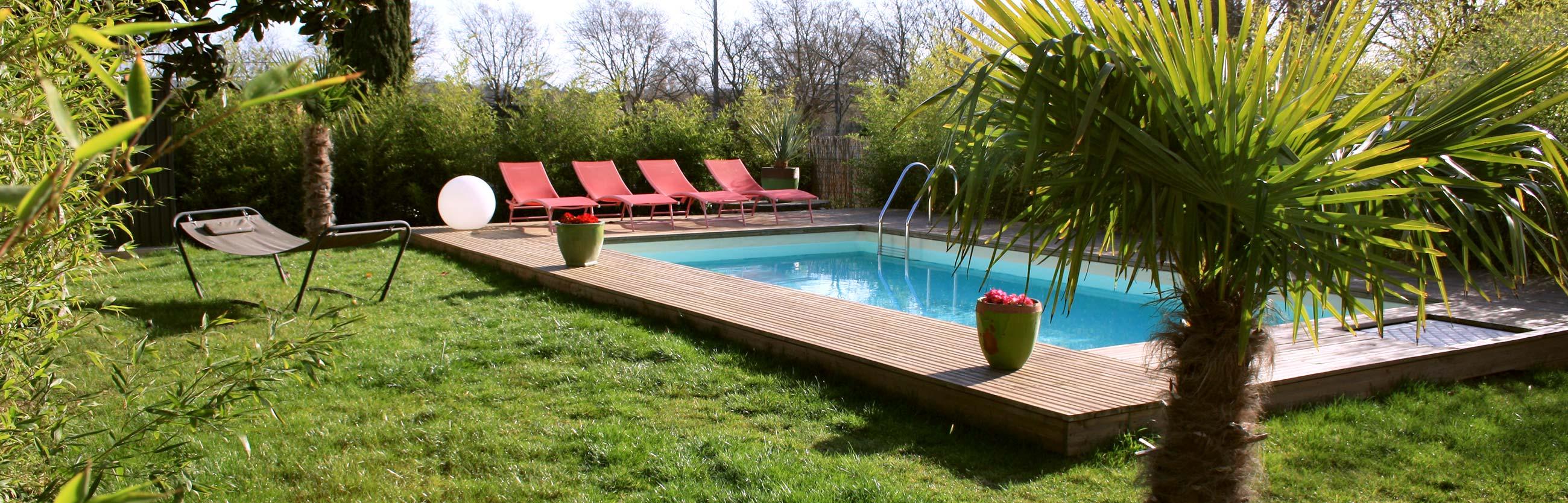 chambre d'hôte avec piscine à Toulouse