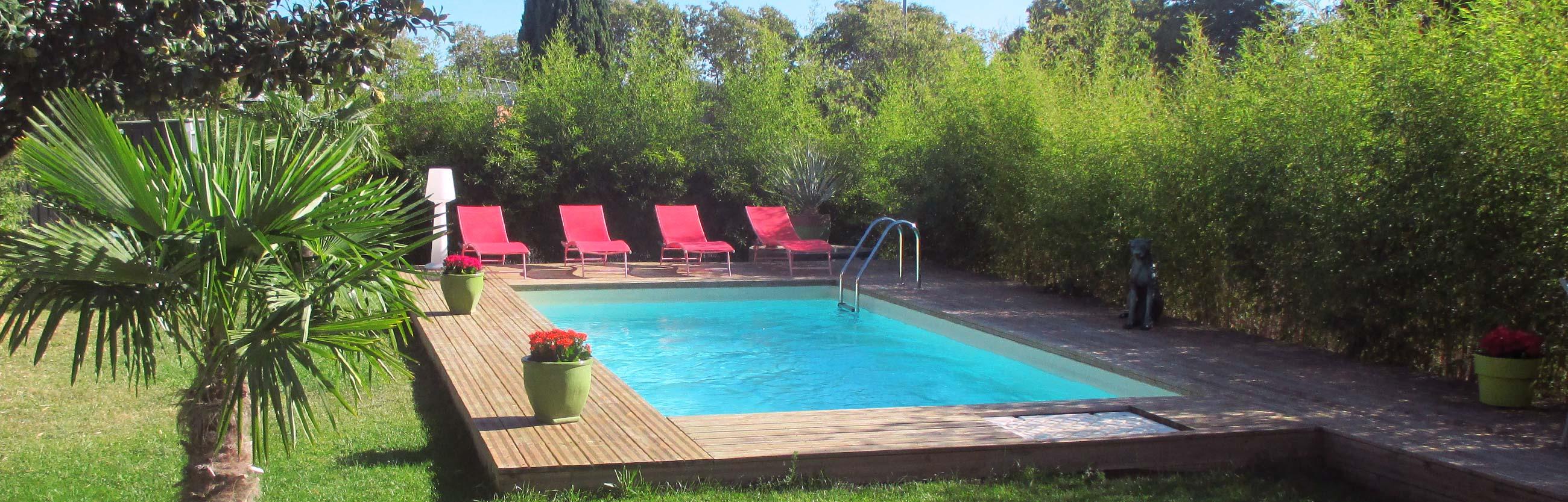chambre d'hote avec piscine à Toulouse